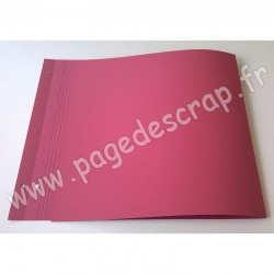 SCRAPFACTORY PAGE DOUBLE FRAMBOISE