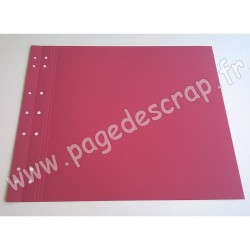 SCRAPFACTORY PAGE SIMPLE FRAMBOISE