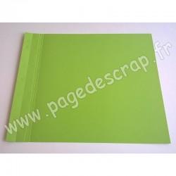 SCRAPFACTORY PAGE SIMPLE VERT POMME