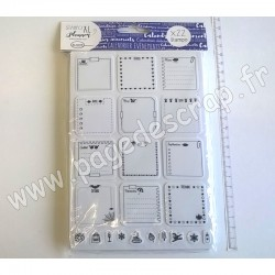 ALADINE TAMPON STAMPO PLANNER PAGE CALENDRIER
