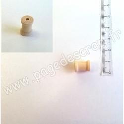 MINI BOBINE DE BOIS 13 mm hauteur
