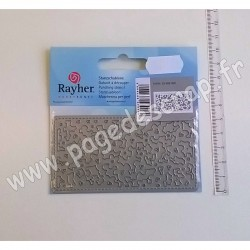 RAYHER DIE FLORAL LACE INSERT