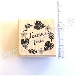 ALADINE TAMPON BOIS FOREVER LOVE    F01712