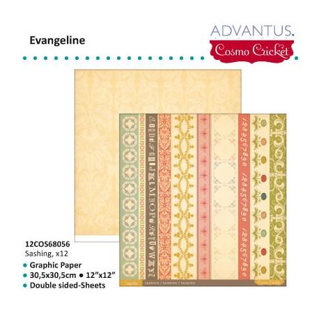 ADVANTUS COSMO CRICKET EVANGELINE PAPER SASHING