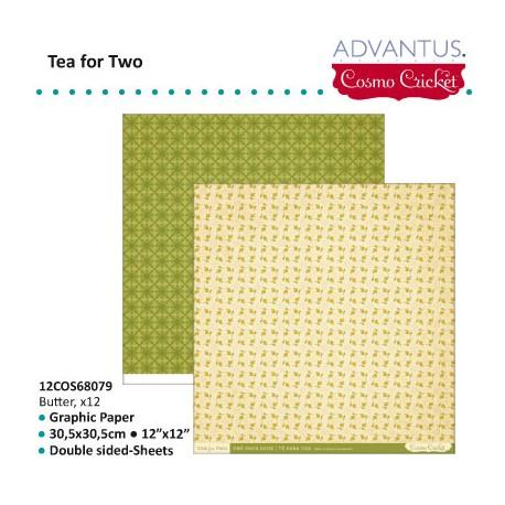 ADVANTUS COSMO CRICKET TEA FOR TWO BUTTER