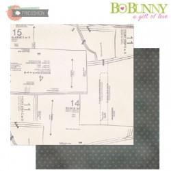 BO BUNNY PINCUSHION HANDMADE PAPER
