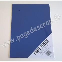 TONIC STUDIOS CRAFT PERFECT MIRROR CARD SATIN A4 x5 250g COBALT VELOUR