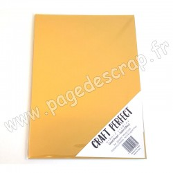 TONIC STUDIOS CRAFT PERFECT MIRROR CARD SATIN A4 x5 250g GOLD PEARL