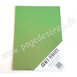 TONIC STUDIOS CRAFT PERFECT MIRROR CARD GLOSSY A4 x5 250g EMERALD GREEN