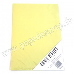 TONIC STUDIOS CRAFT PERFECT PEARLESCENT CARD A4 x5 250g LIME LIGHT