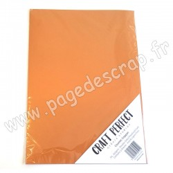 TONIC STUDIOS CRAFT PERFECT PEARLESCENT CARD A4 x5 250g COSMIC COPPER