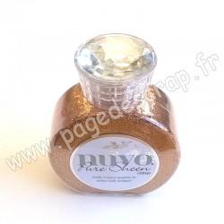TONIC STUDIOS NUVO PURE SHEEN GLITTER 100ml ROSE GOLD