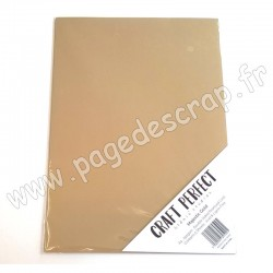 TONIC STUDIOS CRAFT PERFECT PEARLESCENT CARD A4 x5 250g MAJESTIC GOLD