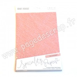 TONIC STUDIOS CRAFT PERFECT PAPIER SPECIAL A4 x5 150g PINK CHAMPAGNE