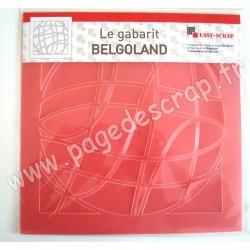 EASY SCRAP GABARIT BELGOLAND