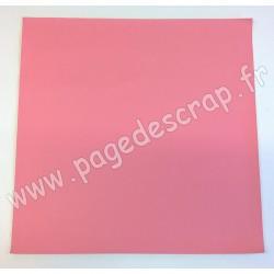 ARTEMIO FEUILLE SIMILI CUIR 30 cm x 30 cm 0,7 mm LOVELY SWAN ROSE