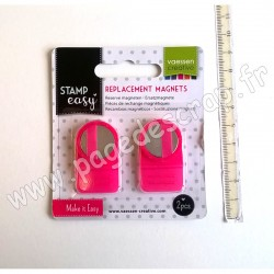 VAESSEN CREATIVE MAGNETS REPLACEMENT x2 pour STAMP EASY TOOL