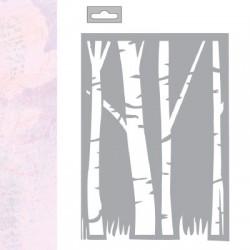 MASK STENCIL A5 TREE