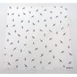LES PAPIERS DE PANDORE FREE AS A BIRD ENVOLÉE 30,5 cm x 30,5 cm