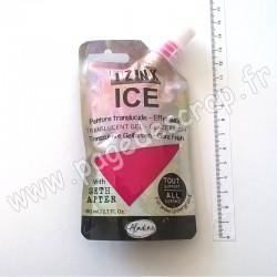 IZINK ICE PEINTURE TRANSLUCIDE EFFET GLACÉ 80 ml ROSE ROSÉE