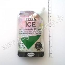 IZINK ICE PEINTURE TRANSLUCIDE EFFET GLACÉ 80 ml MARRON COFFEE