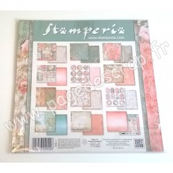STAMPERIA DREAM 10 feuilles R/V 30.5 cm x 30.5 cm 190 gr