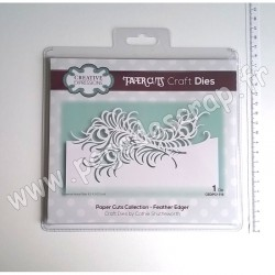 CEDPC1118   CREATIVE EXPRESSIONS  DIE FEATHER EDGER