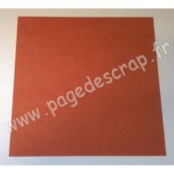 VINT23   CARDSTOCK VINTAGE ROUILLE 30.5 cm x 30.5 cm