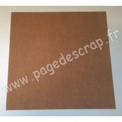 VINT38   CARDSTOCK VINTAGE BEIGE DUNE 30.5 cm x 30.5 cm