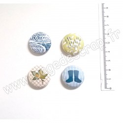 MARIE LN GEFFRAY COLLECTION OCTOBRE 4 BADGES
