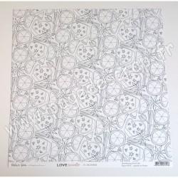 BGWIN03   BÉATRICE GARNI ILLUSTRATION LOVE WINTER - 03 30.5 cm x 30.5 cm