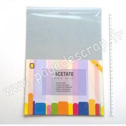 3.1000   JEJE PRODUKT ACETATE (feuilles transparentes) A4 x5