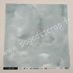 FDPU12016   FLORILEGES DESIGN  LES PAPIERS UNIS 20 EUCALYPTUS 30.5 cm x 30.5 cm
