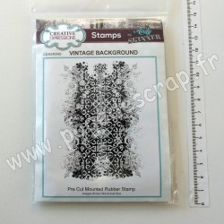 CEASRS045   CREATIVE EXPRESSIONS  STAMP VINTAGE BACKGROUND