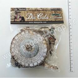 DFLDC25   STAMPERIA DIE CUTS SIR VAGABOND x60 pièces