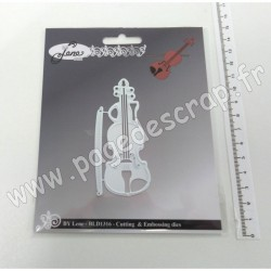 BLD1316   BY LENE CUTTING & EMBOSSING DIES VIOLON