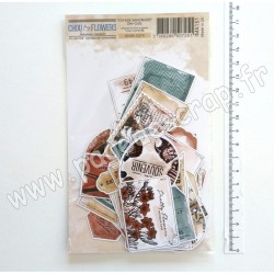 IMA151   CHOU & FLOWERS COLLECTION VOYAGE IMAGINAIRE DIE-CUTS