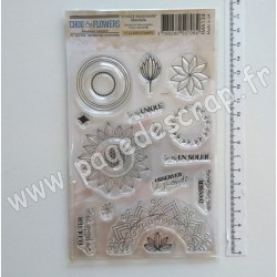 IMA134   CHOU & FLOWERS COLLECTION VOYAGE IMAGINAIRE TAMPON CLEAR MANDALA