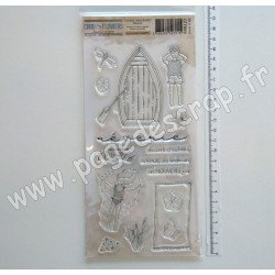 IMA127  CHOU & FLOWERS COLLECTION VOYAGE IMAGINAIRE TAMPON CLEAR RÊVERIE