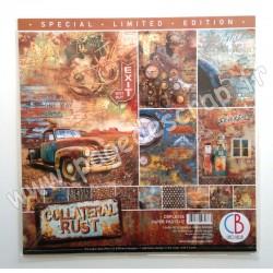 CBPLE026   CIAO BELLA EDITION LIMITED COLLATERAL RUST 12 imprimés R/V 30.5 cmx30.5 cm 190g