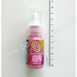 CSPPCAND   COSMIC SHIMMER PIXIE POWDER CANDY PINK 30ml