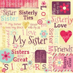 SISTER ARE SPECIAL COLLAGE