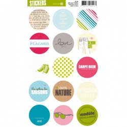 STICKERS RONDS DEFILE