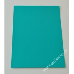 CARTE A4 TURQUOISE