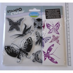ALADINE STAMPO CLEAR PAPILLONS
