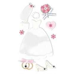 ESSENTIALS STICK WEDDING DRESS
