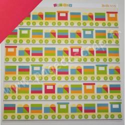 BO BUNNY TOY BOX PLAYTIME 30.5 cm x 30.5 cm