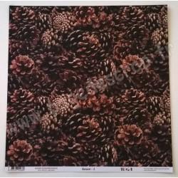 TOGA NATUREL 3 RECTO VERSO IDENTIQUE 30.5 cm x 30.5 cm